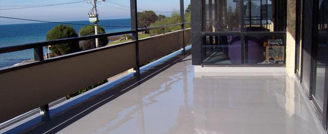 Roof decks and balconies waterproofing